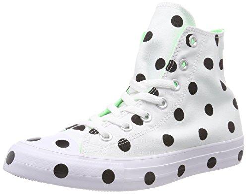 Green Donna Alto Ctas Converse Green illusion Multicolore 102 Sneaker Collo black white White black A Hi illusion qvRzZ