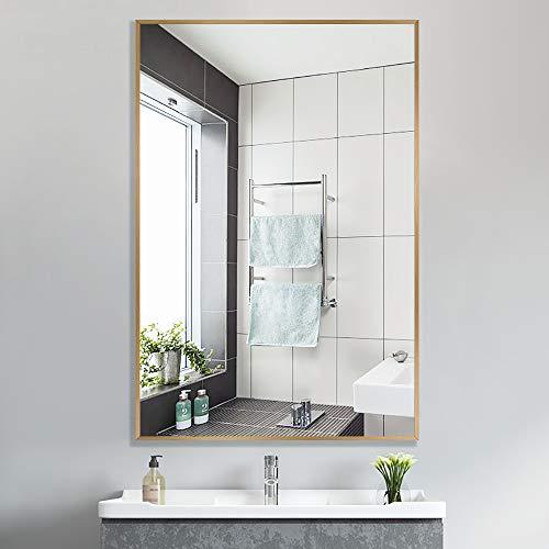 PexFix Wall Mirror for Bathroom, Large Bathroom Mirror, contemporarySimple Rectangle Vanity Mirror -