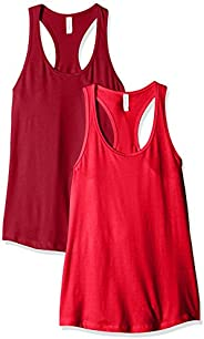 Clementine Women's Ideal Racerback Tank (Pack o