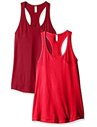 Clementine Women's Ideal Racerback Tank (Pack of 2)