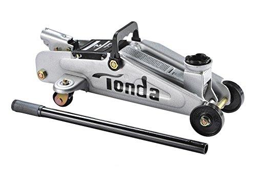 TONDA 2 Ton Capacity Heavy Duty Steel Garage Floor Jack, Quick Lift(The max height 12 inches)