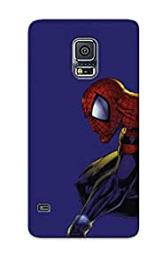 Ideal Gift - Tpu Shockproof/dirt-proof Image Of 49 Piderman Ic Cartoons015 Free Cover Case For Galaxy(s5) With Design
