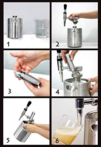 Royal Brew Nitro Cold Brew Coffee Maker Kit 64 Ounce Stainless Steel Keg Homebrew System 2.0 by Royal Brew (Image #1)