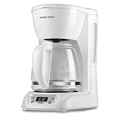 Black & Decker DLX1050 12-Cup Programmable Coffeemaker with Glass Carafe
