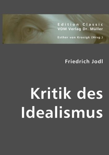 Kritik des Idealismus