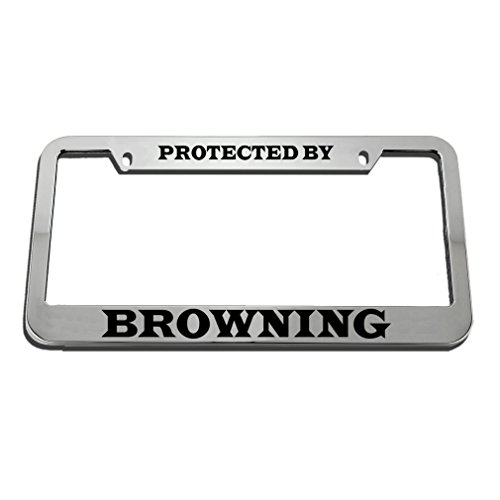 custom license plate browning - 8
