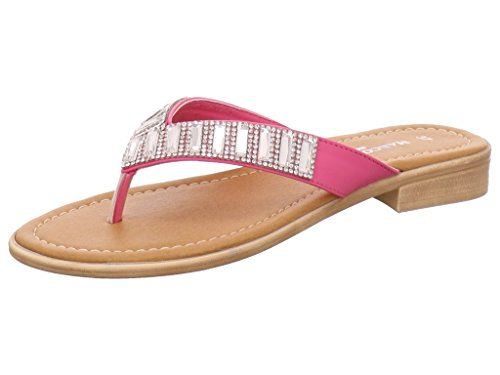 MARCO TOZZI Tythes Renner Sandali da donna con strass, colore: rosa