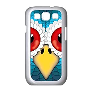 Coloful Wise Owl HD Image Slim fit Hard Protective Bumper Hard Plastic Case Cover Design for Samsung Galaxy S3 I9300/I9308/I939