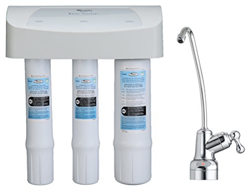 Aquasana OptimH20 Triple-Stage Reverse Osmosis Under Sink Water Filtration System