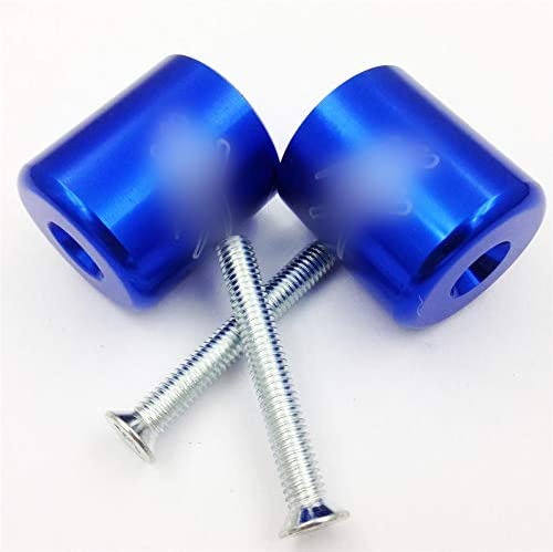 B00YWCIU4K XKMT-Bar Ends Compatible with Suzuki Gsxr 600 750 1000 1100 Hayabusa Gsx1300 R 1999-2012 Blue