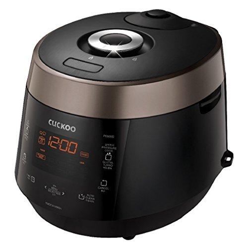 Cuckoo Electric Heating Pressure Rice Cooker CRP-P0609SB Black