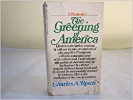 Book The Greening of America ByCharles Reich