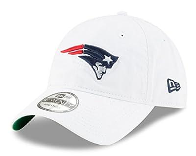 New England Patriots White Core Classic Twill 9TWENTY Adjustable Hat / Cap from New Era