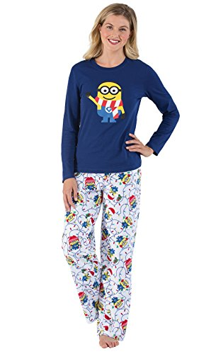PajamaGram Womens Christmas Pajamas Fleece - Christmas Pajama,