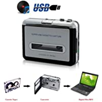 HFAN Tape to PC USB Cassette & MP3 CD Converter Capture Digital Audio Music Player