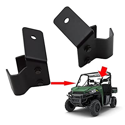 Front Side Pillar Pro-fit Cage Mounting Brackets For 2015 2016 2020 2020 2020 Polaris Ranger XP 570 900 1000 Models (No Drilling Required): Automotive