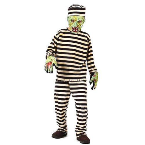 Fun World Boys Zombie Convict Costume with Mask]()