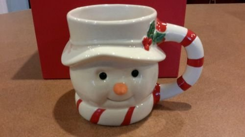 Lenox Snowman Cup, Hot Chocolate Mug