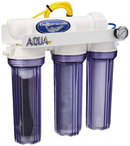 AquaFX Barracuda RO/DI Aquarium Filter, 50 GPD (Ro Di Unit)