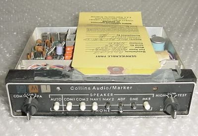 622-2087-016, AMR-350, Collins Audio Panel w/ Serviceable tag