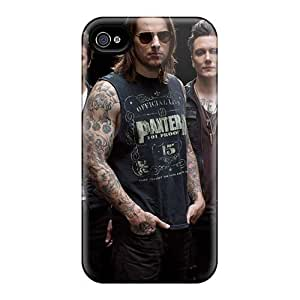 Iphone 4/4s GJR154MDCD Provide Private Custom Realistic Avenged Sevenfold Image Great Cell-phone Hard Covers - PamelaSmith