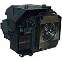 SpArc Bronze Epson ELPLP58 Projector Replacement Lamp with Housing
