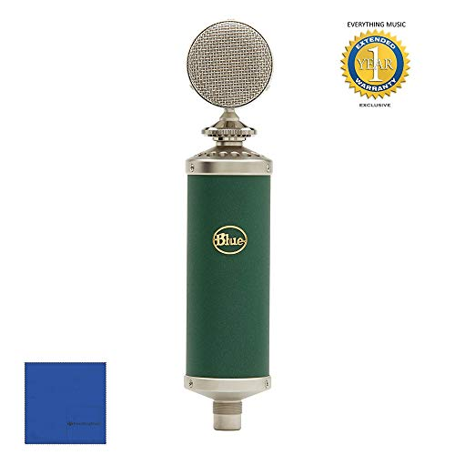 Blue Microphone Kiwi - Blue Microphones Kiwi Microphone Kc with Microfiber and 1 Year Everything Music Extended Warranty
