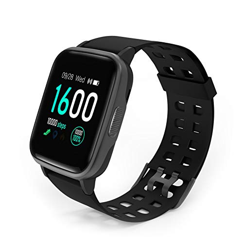 YAGALA Smart Watch, Fitness Tracker with Heart Rate Monitor, 1.4 Inch Touch Screen Activity Tracker with GPS, IP67…