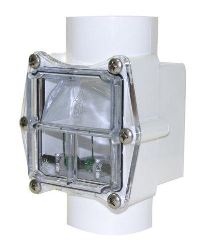 Valterra 310-20 PVC Corrosion Resistant Check Valve, White, 2