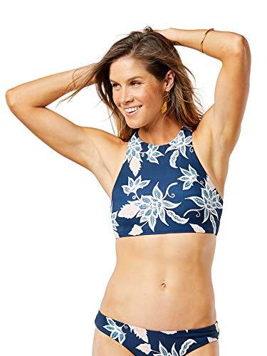 CARVE Designs Women's Sanitas Reversible Top, Batik Floral/Mariposa Shore, MDD-DD