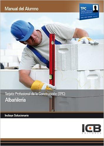 Tarjeta Profesional de la Construcción TPC . Albañilería: Amazon ...