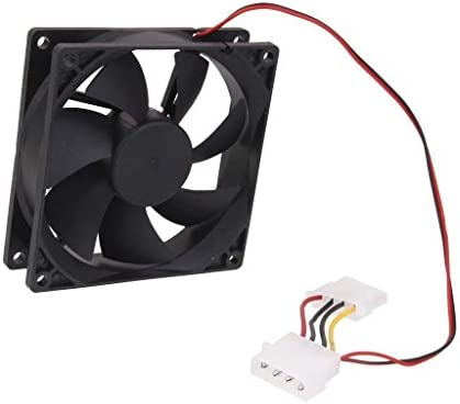 Ventilador Ordenador Enfriador 4 Pin 80mm de la CPU PC DC 12v 80x80x25mm 8cm V5: Amazon.es: Electrónica