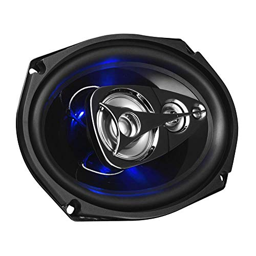 BOSS Audio Systems BE694 6 x 9 Inch Car Speakers - 500 Watts of Power Per Pair, 225 Watts Each, Full Range, 4 Way, Sold in Pairs (6 X9 Speaker Grill)