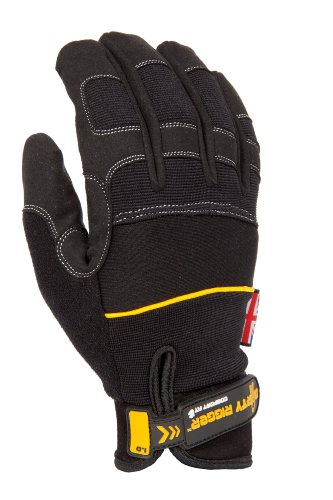 Rigger Gloves (Dirty Rigger Comfort Fit Work Glove, Medium, Size 9)
