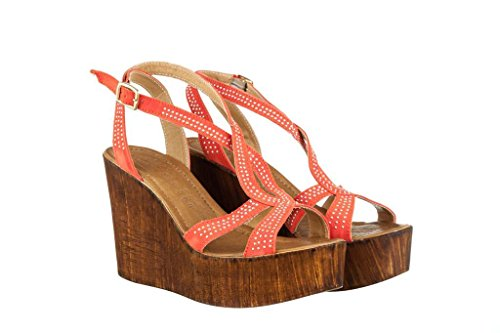 Sandalen Sandaletten aus Leder Schuhe Damen RIPA shoes - 09-8019