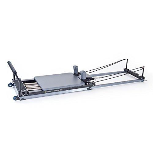 Pilates IQ Reformer, with Wheelbarrow Wheels by Balanced Body