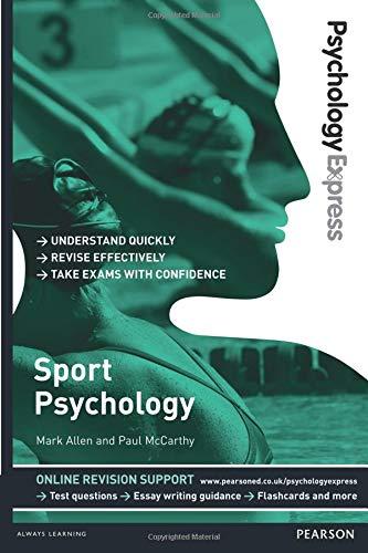 Sport Psychology Undergraduate Revision Guide (Psychology Express) [Allen, Mark - McCarthy, Paul] (Tapa Blanda)