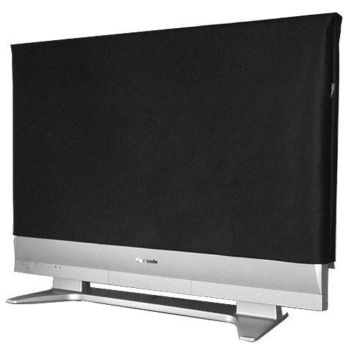 ROTRi® maßgenaue Staubschutzhülle für Fernseher - schwarz