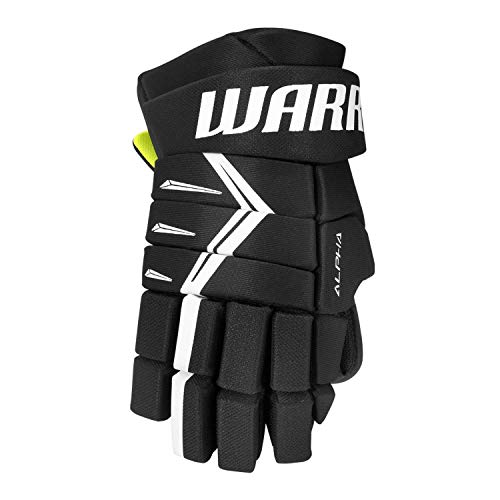 Warrior Sports Alpha Dx5 Senior Hockey Gloves Black 14
