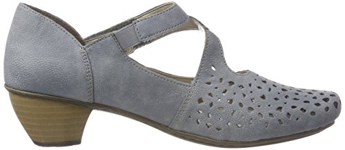Rieker Women's 41767 Closed Toe Heels, Blue Blue (Adria 13)