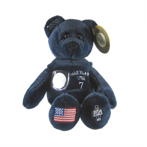 Quarter Toys Bear State Timeless - Maryland State Quarter Bear Collectible Stuffed Bear by Timeless Toys