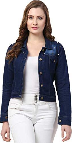 SKYLER Full Sleeve Solid Women Denim Jacket