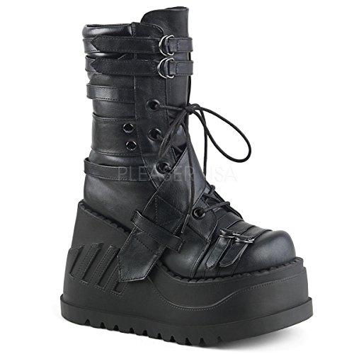 Stomp Platform Womens (Demonia DEMONIAW Womens STOMP-26/BVL Boots)