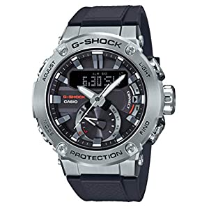 G-Shock Negro [Casio] Reloj G-Steel Estructura de núcleo Guardia de Carbono Solar GST-B200-1AJF Hombres 8