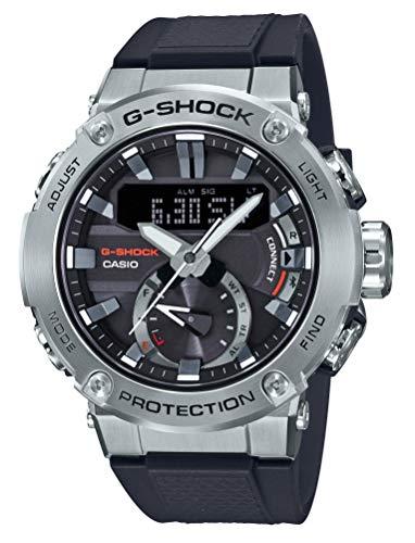 G-Shock Negro [Casio] Reloj G-Steel Estructura de núcleo Guardia de Carbono Solar GST-B200-1AJF Hombres 1