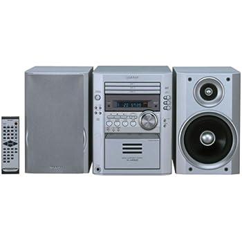 Amazon Com Sharp Xl Hp500 3 Disc Executive Microsystem