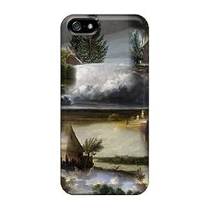 Diycase case, Fashionable Iphone 5/5s case cover - wAKLDrFtmaV Old English Paintings