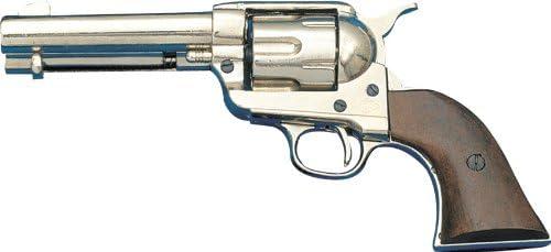 Denix Army Revolver Replica - Nickel - Non-Firing Replica