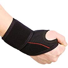 CSX Wrist Wrap, Adjustable Compression, Universal Fit, Sport Performance