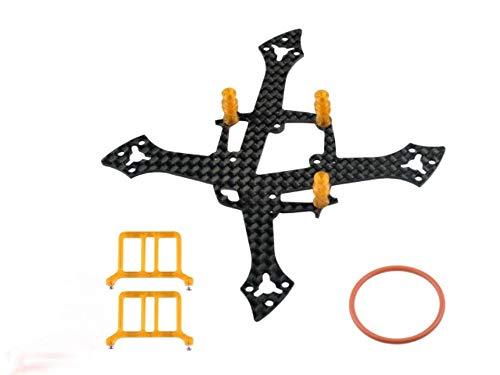 Microheli Carbon Fiber Frame Without Ducted (Orange) - MOBULA7